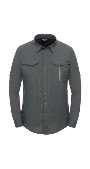 The North Face M's Sequoia L/S Shirt Spruce Green